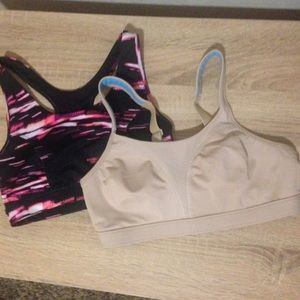 2 Sports Bras Excellent Condition